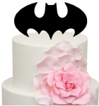 Batman sign Cake Acrylic Topper